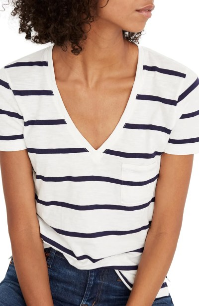 Main Image - Madewell V-Neck Pocket Tee