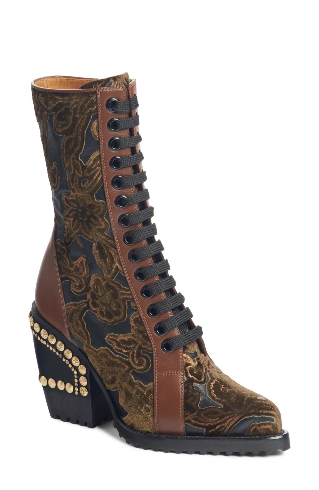 6167b0f7e23a Chloé Medium Nile Leather Bracelet Saddle Bag