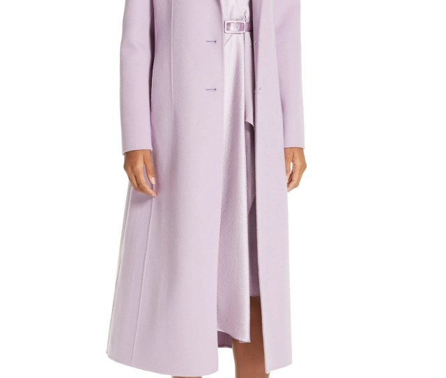 Lewit Double Face Wool Cashmere Coat