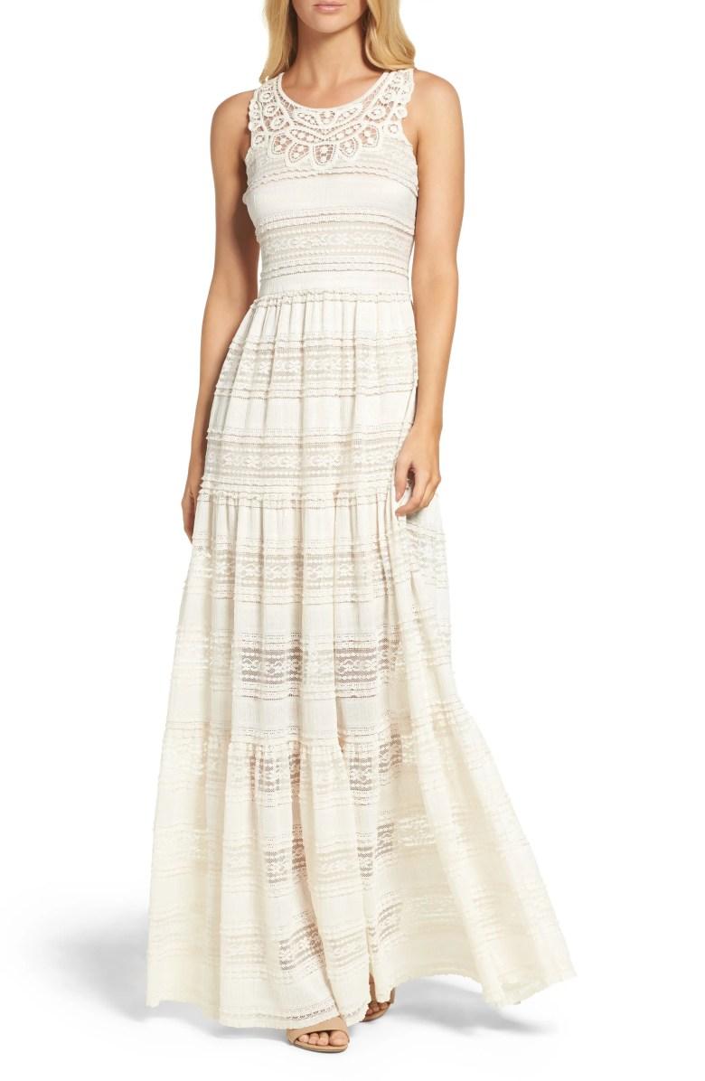 Maxi Dress, Main, color, Ivory