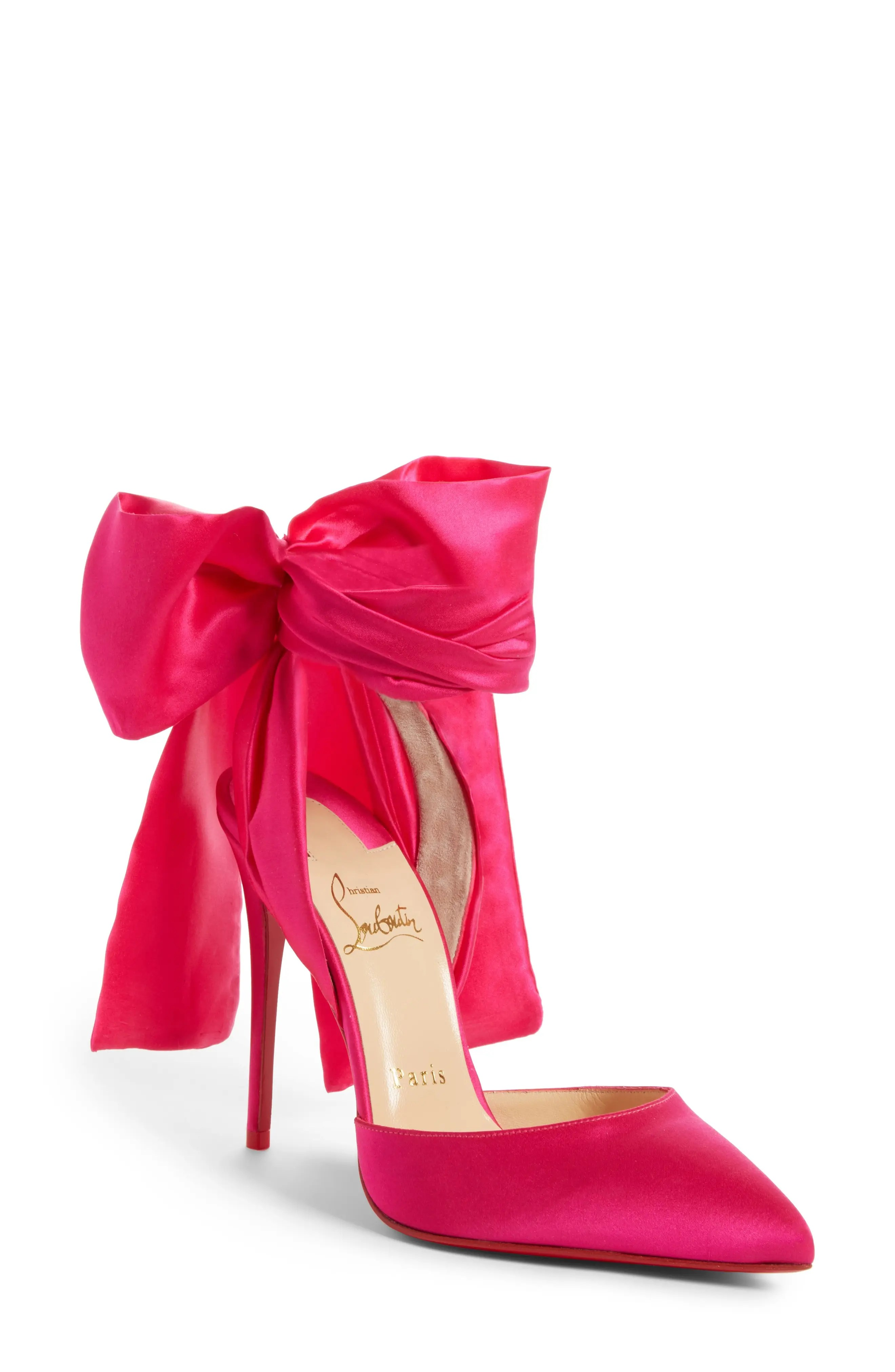 Christian Louboutin Douce Du Desert Ankle Tie Pump (Women)