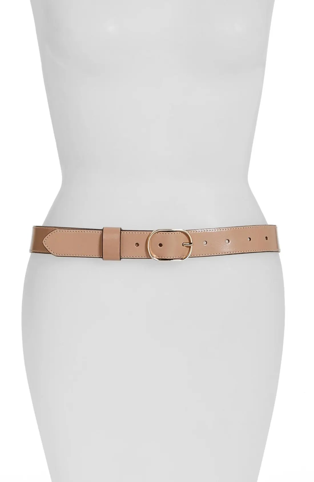 Image result for halogen faux leather belt pink dust