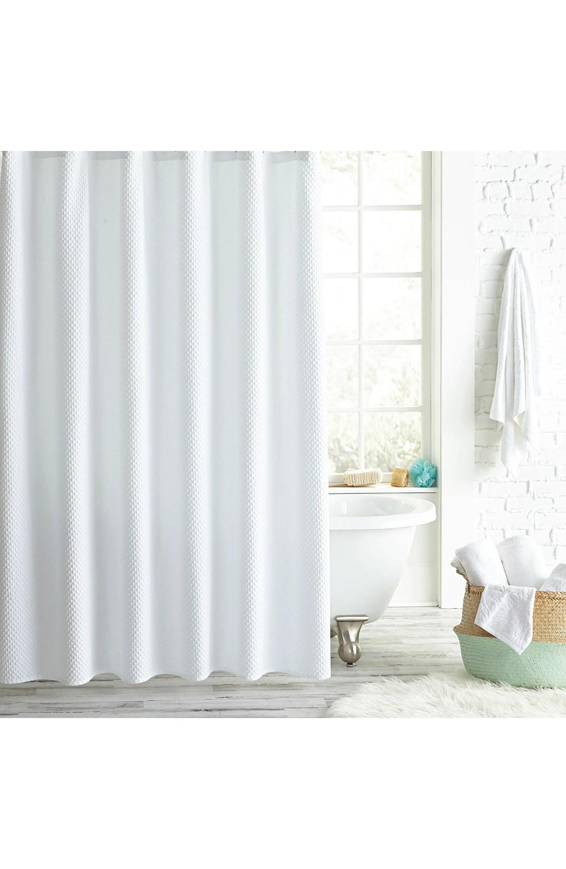 Peri Home Pebble Microsculpt Shower Curtain