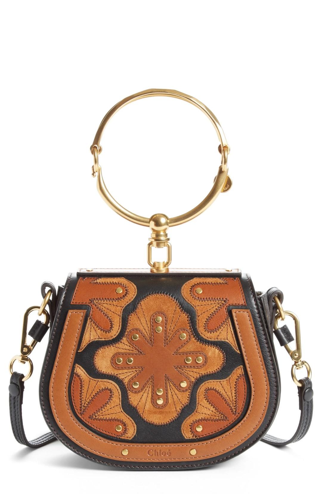 Chloé Small Nile Calfskin Leather Bracelet Bag 5d6d5ec45c
