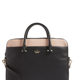 Main Image - kate spade new york 13-inch colorblock leather laptop case (Nordstrom Exclusive)
