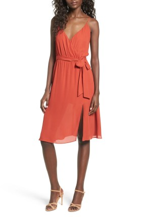 Image result for leith surplice tie waist dress