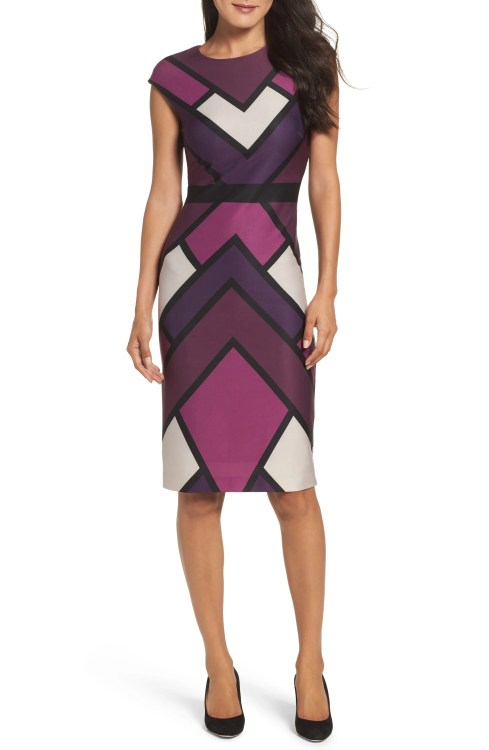 Main Image - Vince Camuto Scuba Body-Con Dress