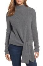 Main Image - Halogen® Tie Hem Sweater (Regular & Petite)
