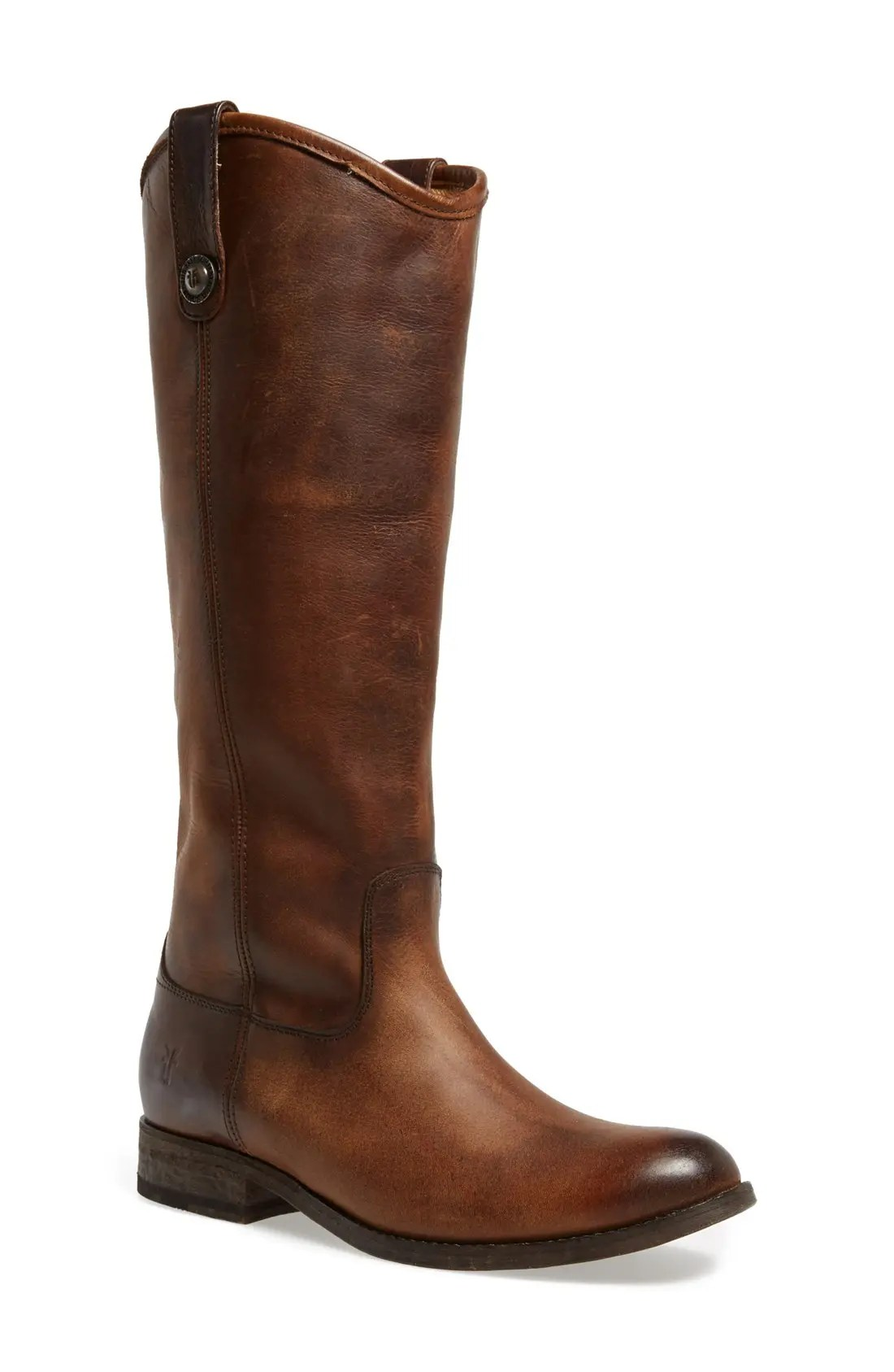 Frye 'Melissa Button' Leather Riding Boot (Women)