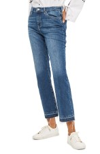 Main Image - Topshop Dree Released Hem Flare Jeans