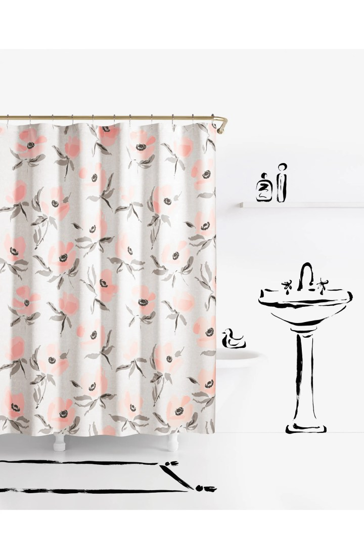 Shower Curtains At B And Q | Gopelling.net