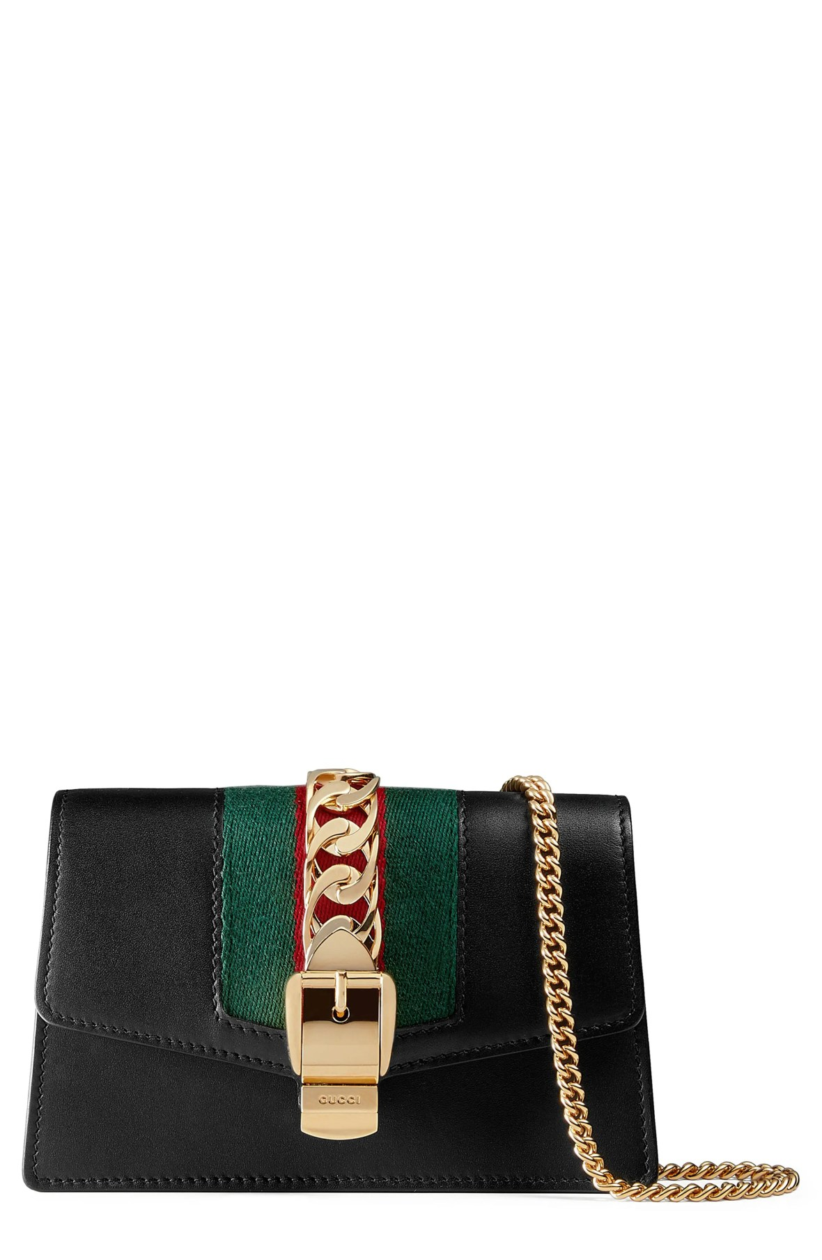 Gucci Super Mini Sylvie Chain Wallet