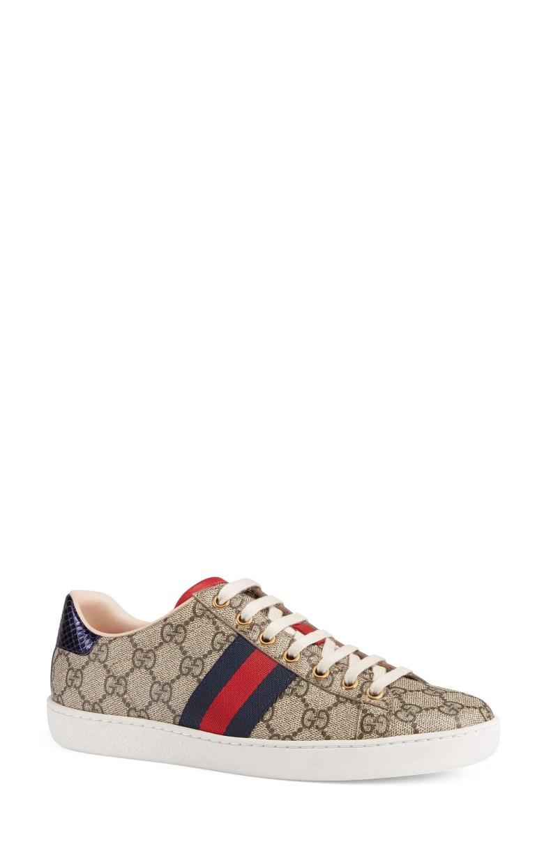 Gucci New Ace GG Supreme Sneaker (Women)