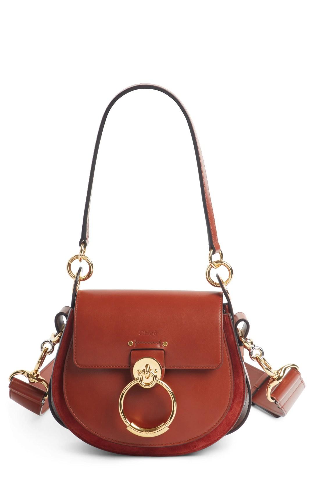 Chloé Small Tess Calfskin Leather Shoulder Bag a858262b8c