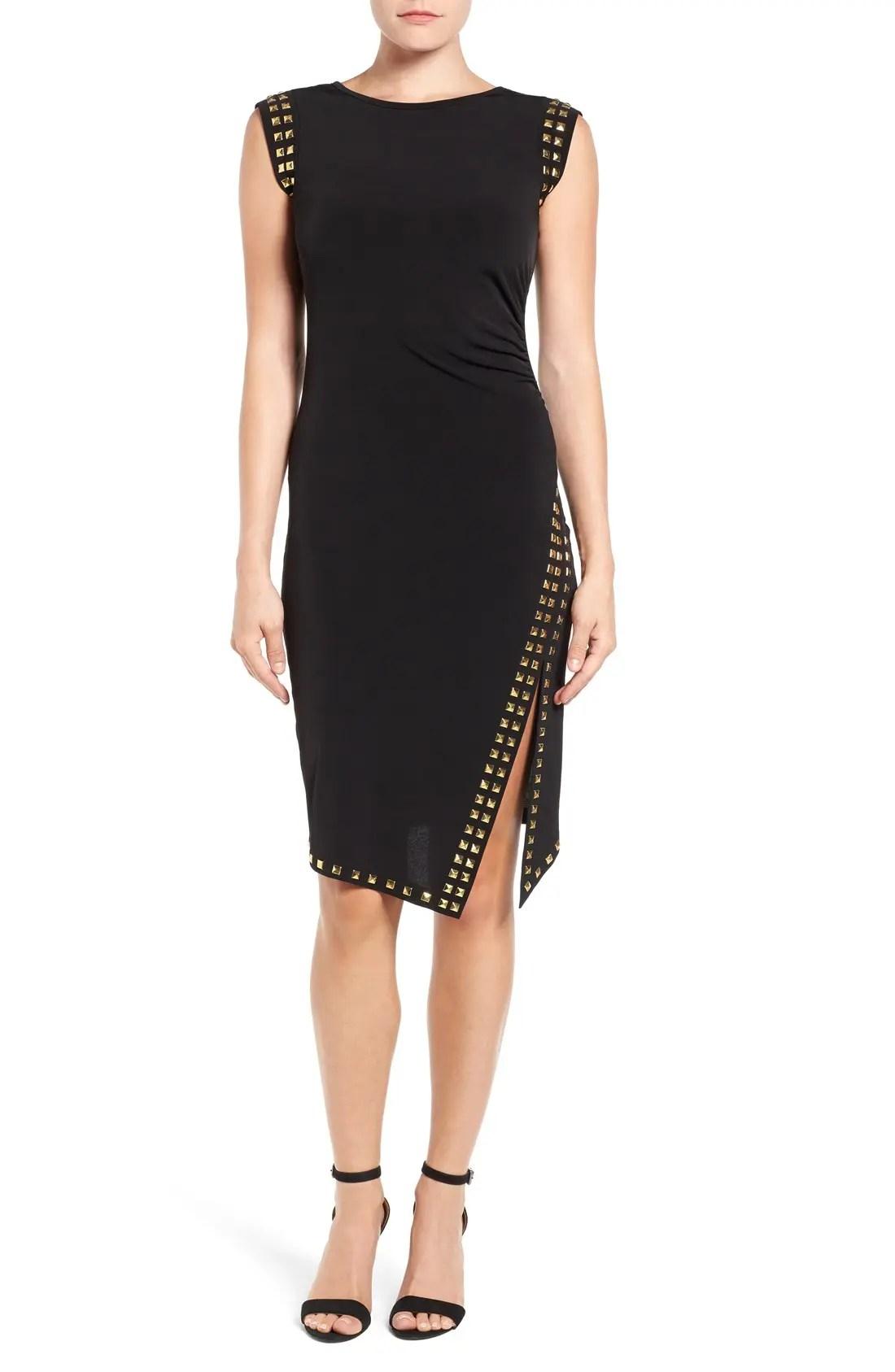 Main Image - MICHAEL Michael Kors Studded Sheath Dress
