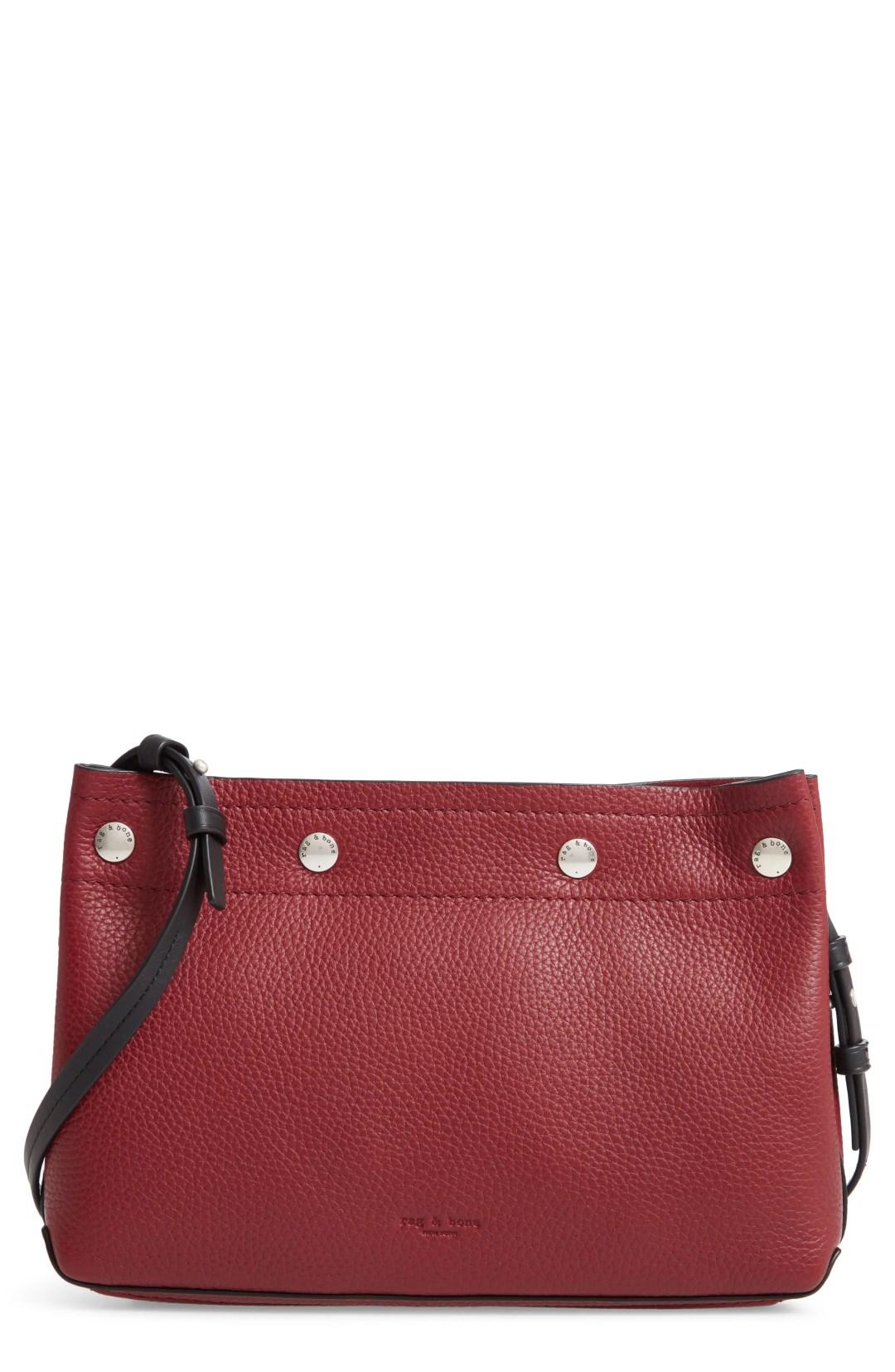 rag   bone Compass Leather Crossbody Bag 362e6118a6