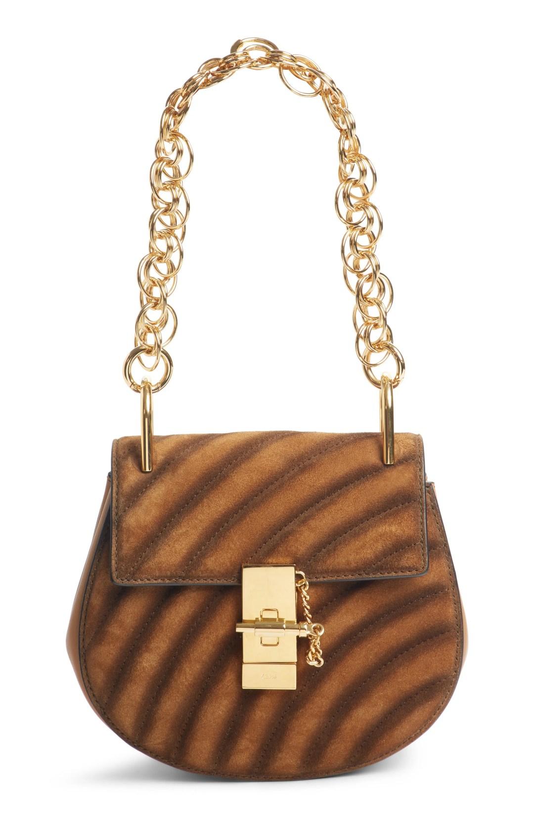 af659aaa9f1 Chloé Mini Drew Bijoux Leather Shoulder Bag