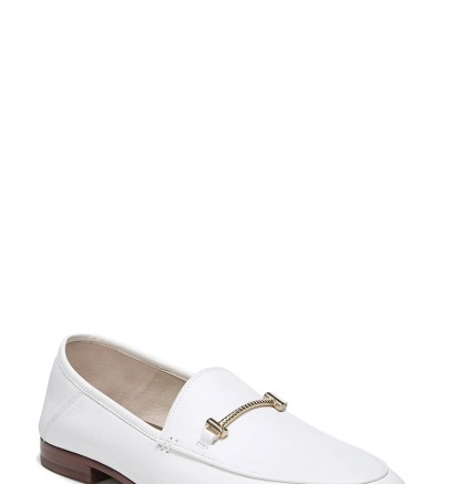 Lior Loafer,                         Main,                         color, BRIGHT WHITE CALF LEATHER