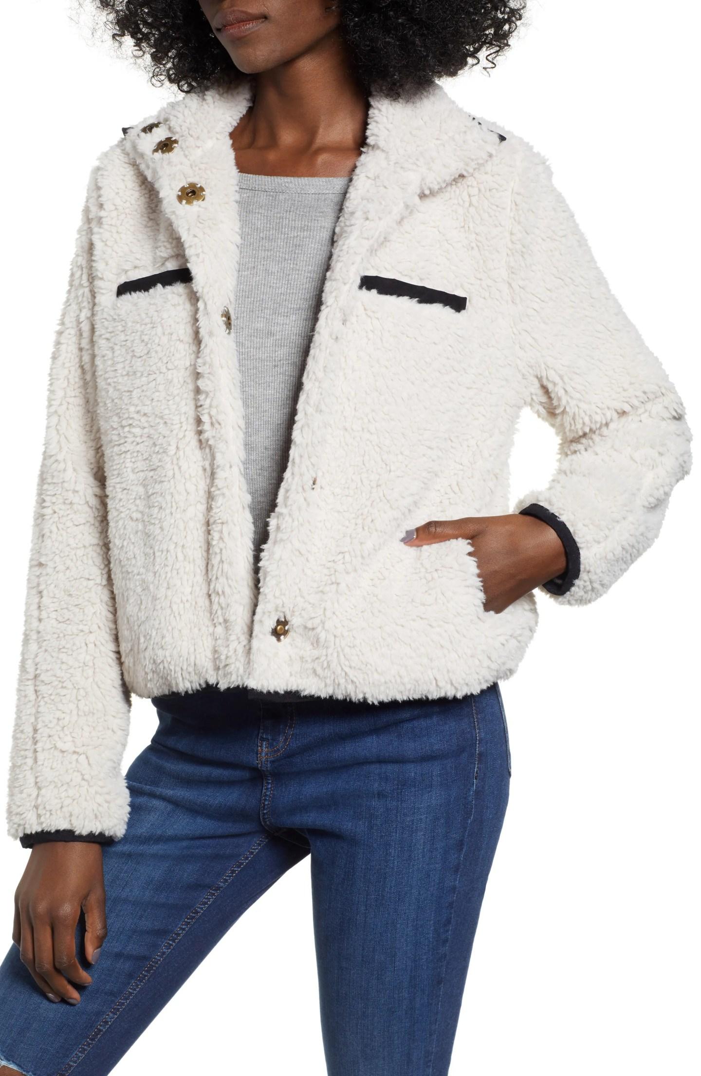 Thread & Supply Soho Faux Shearling Jacket