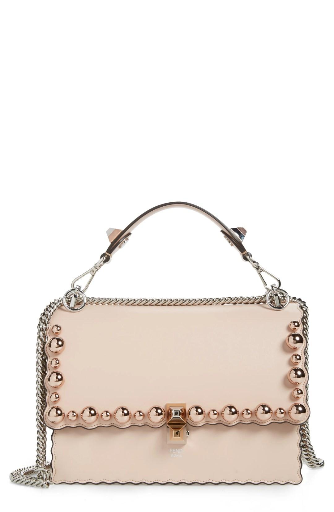40be90ee4 Fendi Mini Kan I Imitation Pearl Scallop Leather Shoulder Bag – –  NORDSTROM.com – $3,190.00