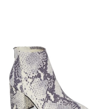 Jillian Bootie,                         Main,                         color, SNAKE PRINT LEATHER
