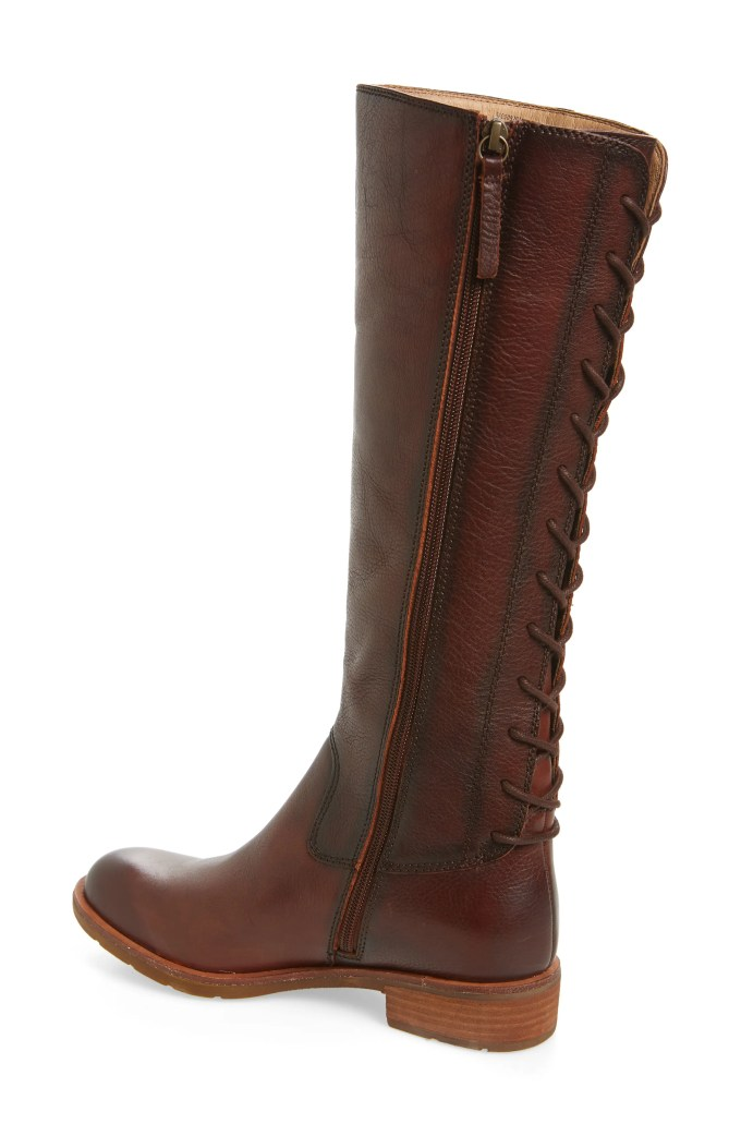 Sharnell II Knee High Boot, Alternate, color, WHISKEY LEATHER