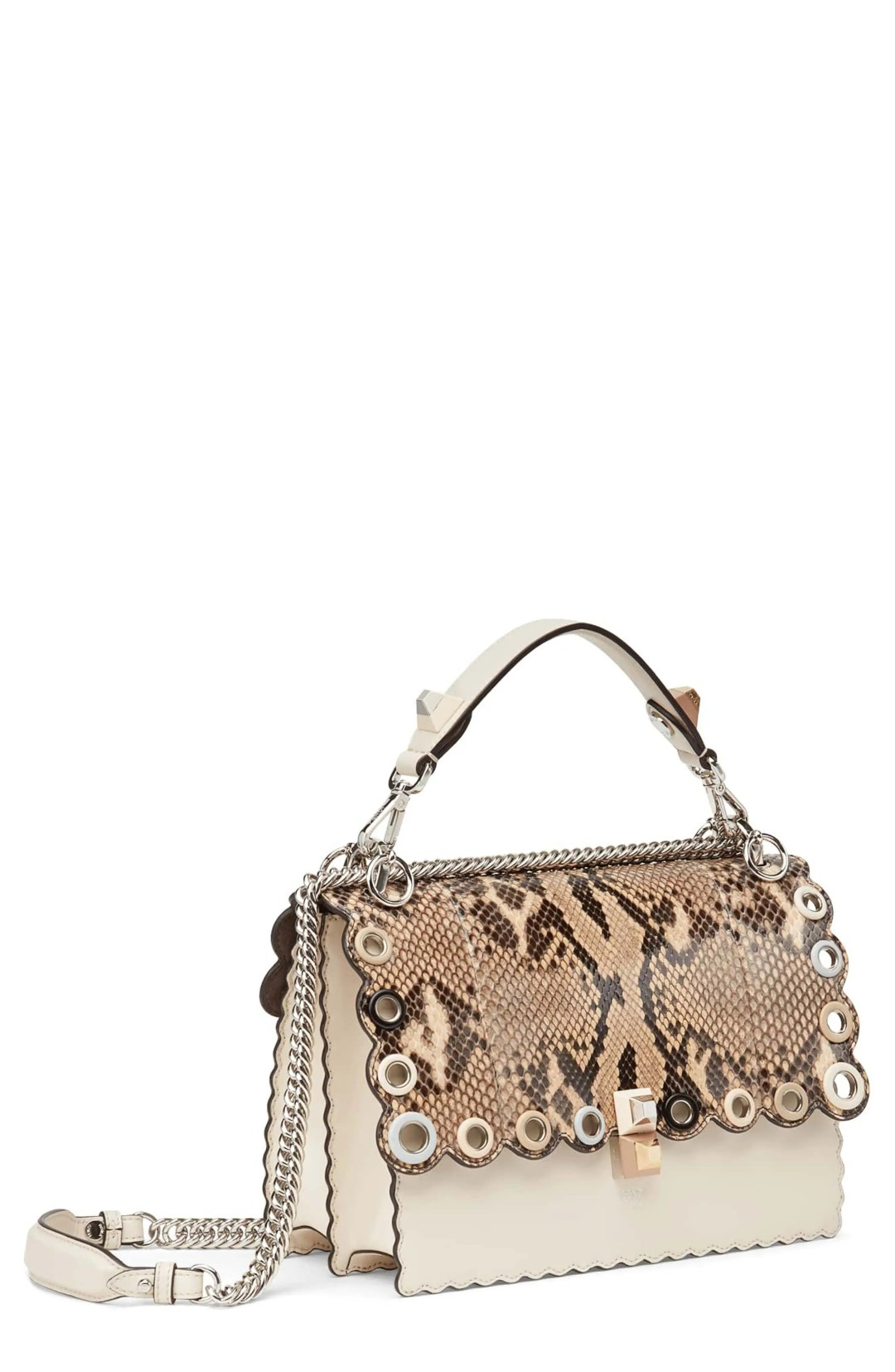 55fe68fae7d8 Fendi Small Kan I Genuine Python   Calfskin Shoulder Bag – – NORDSTROM.com  –  3