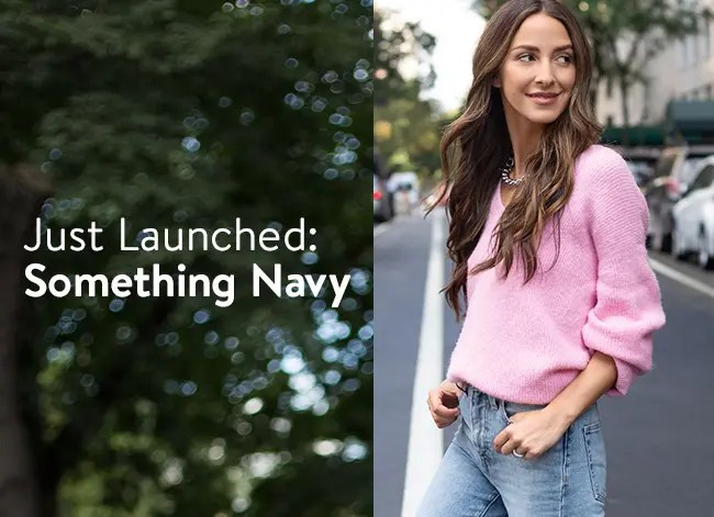 Something Navy is now at Nordstrom.