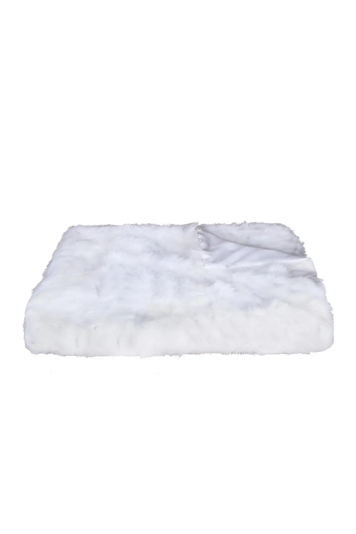 natural genuine rabbit fur throw blanket 50 x 60 white nordstrom rack