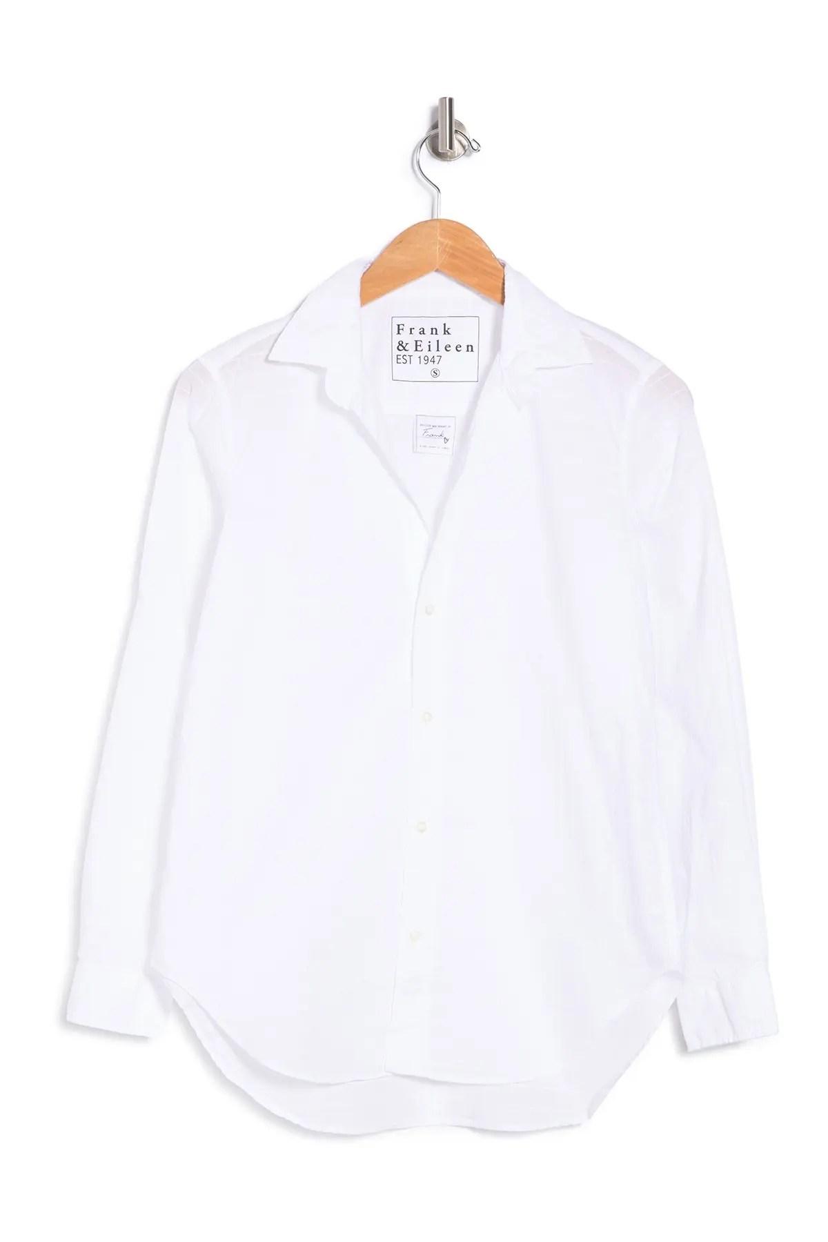 frank eileen frank notch collar button down shirt nordstrom rack