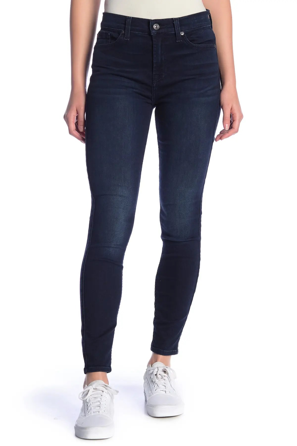 7 for all mankind gwenevere high waist ankle crop skinny jeans nordstrom rack