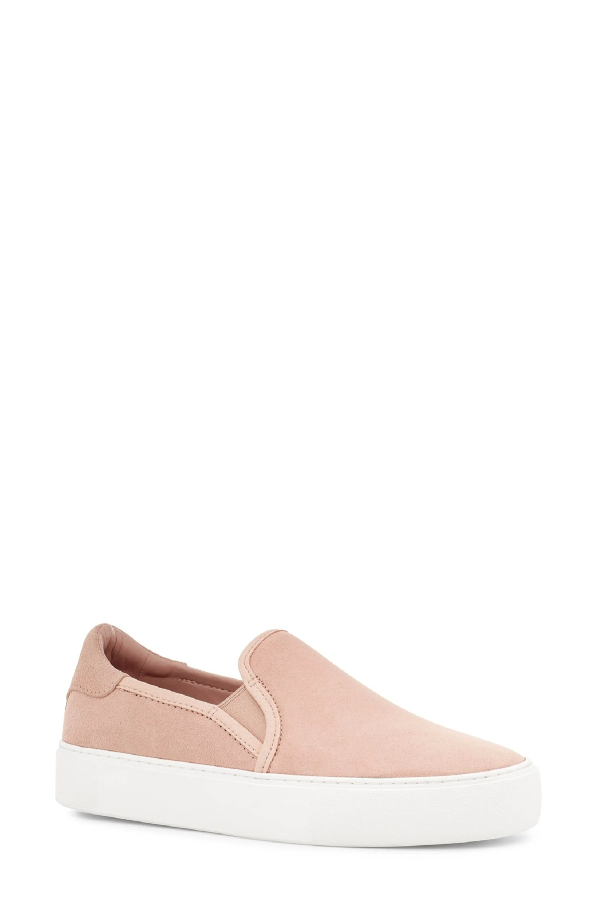 UGG<SUP>®</SUP> Jass Slip-On Sneaker, Main, color, ROSE TEA SUEDE