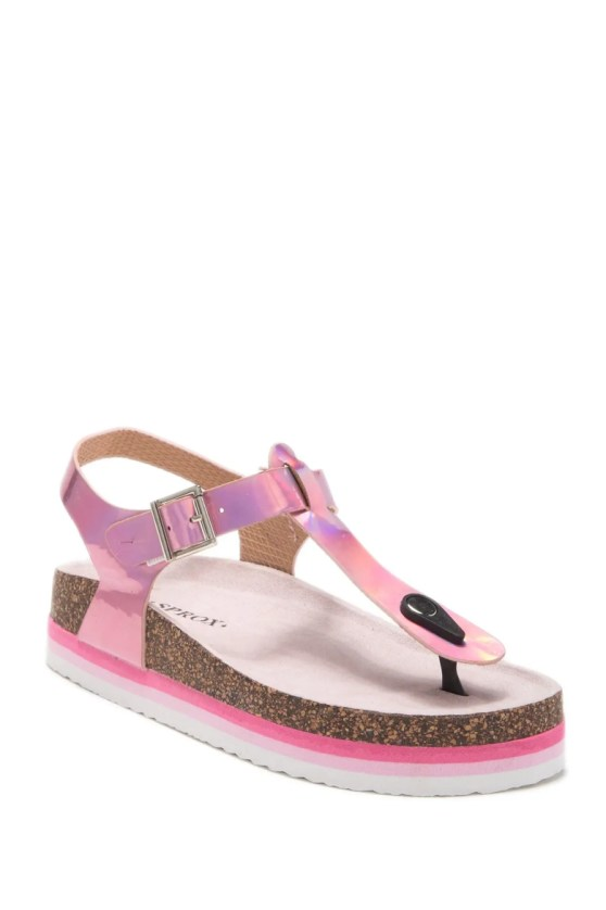 Returnable within 45 days by mail or to a US. Rainbow Platform Sandal Nordstromrack