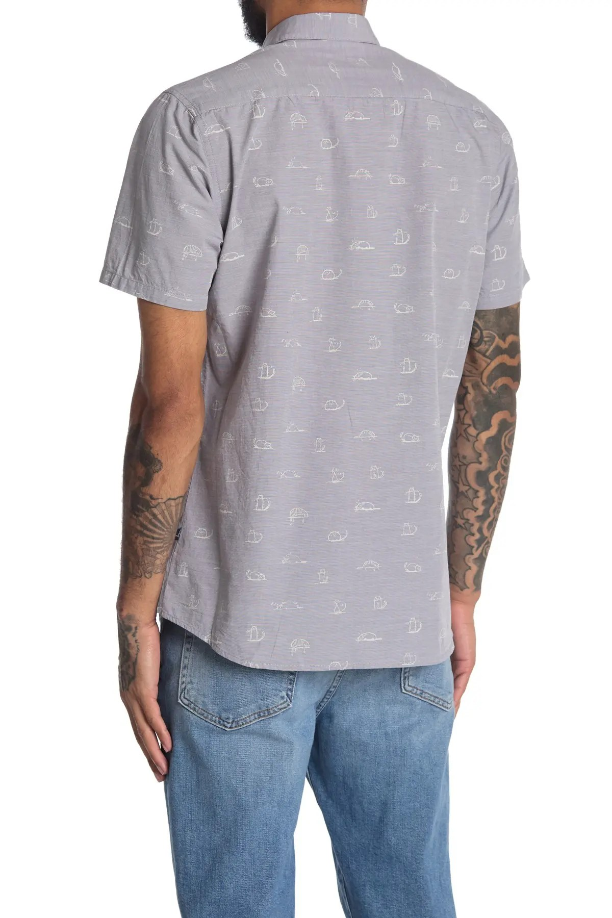 casual button down shirts clearance