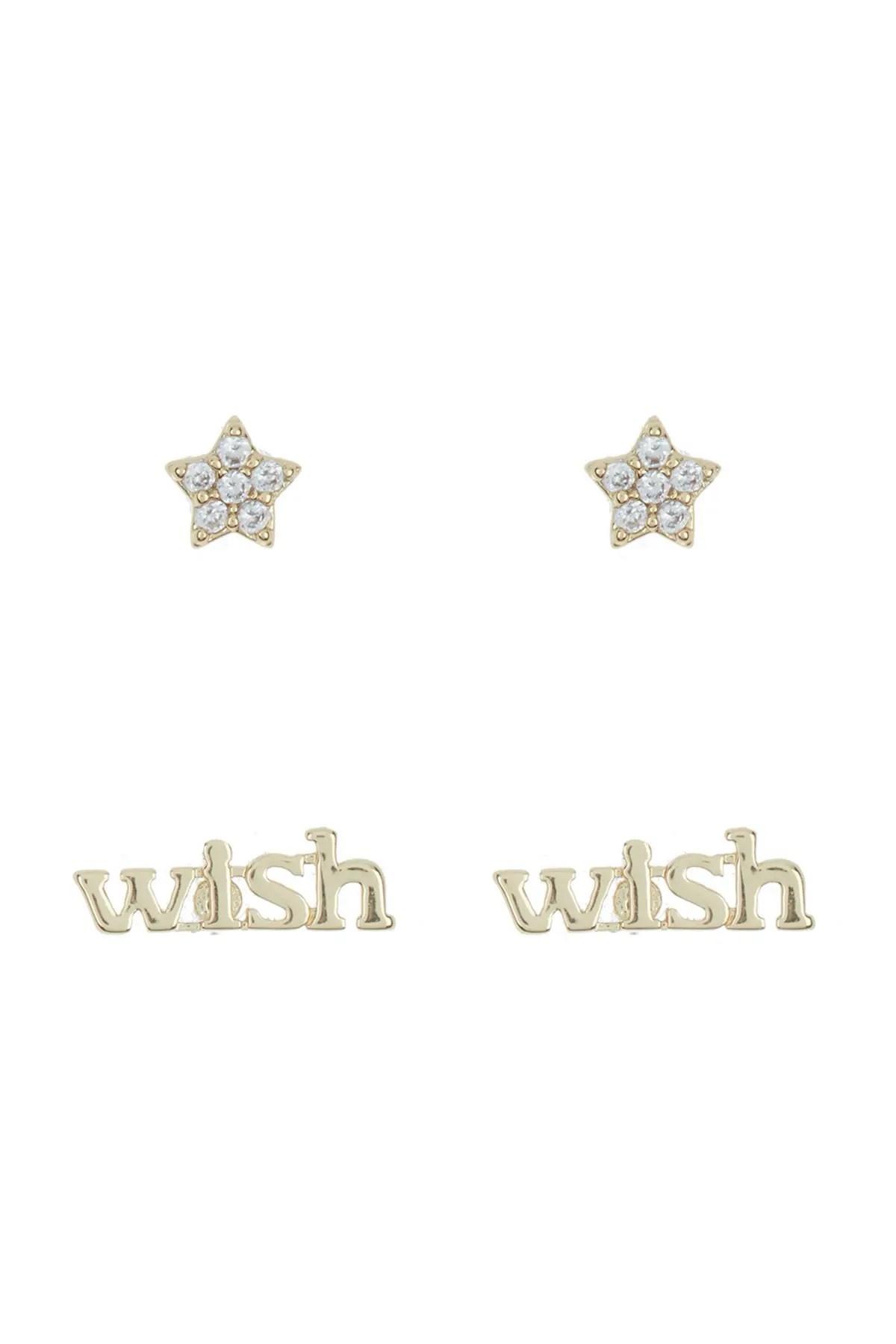 nordstrom rack wish star stud earrings set of 2 nordstrom rack