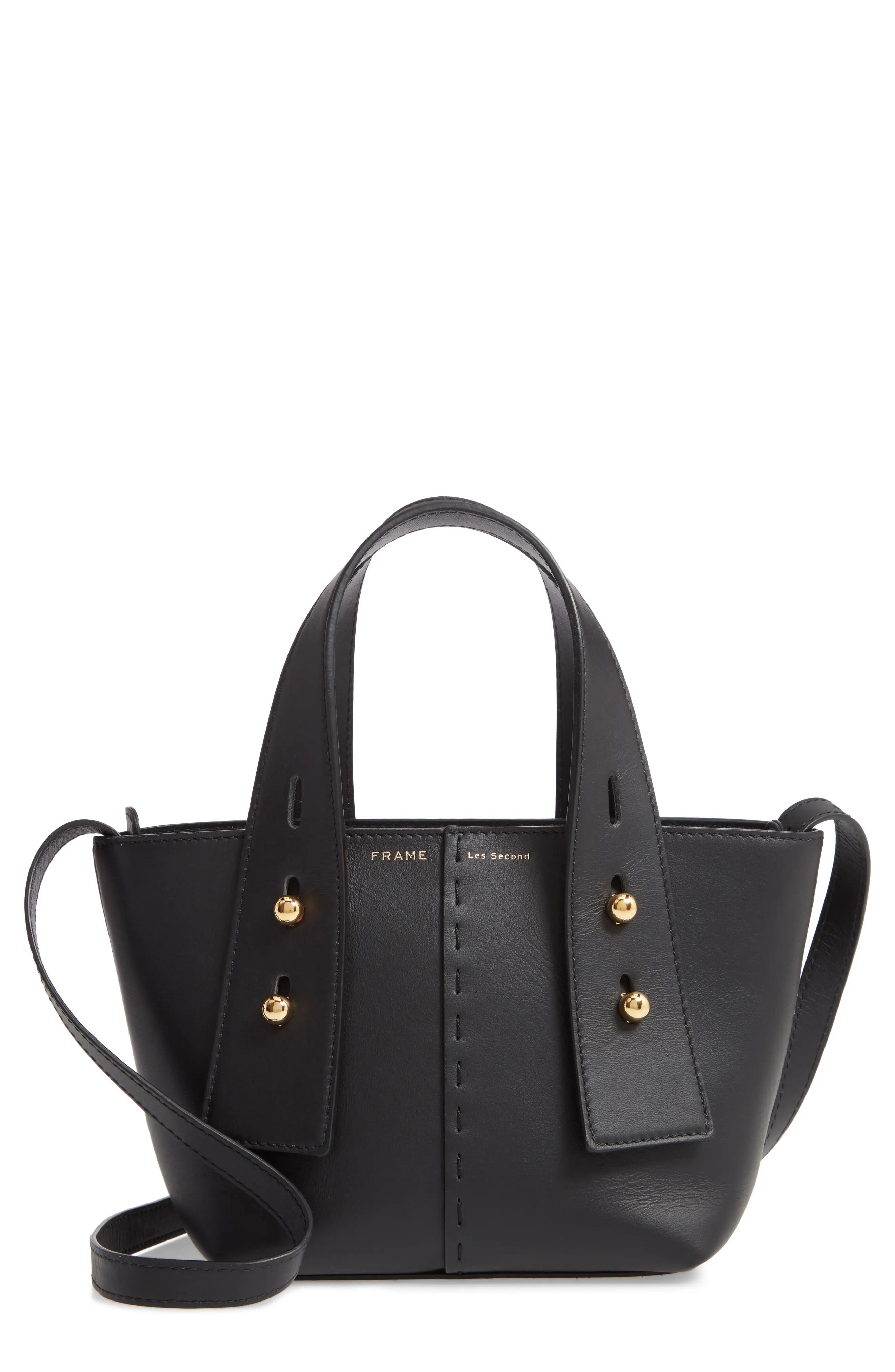 frame les second leather mini tote bag nordstrom rack
