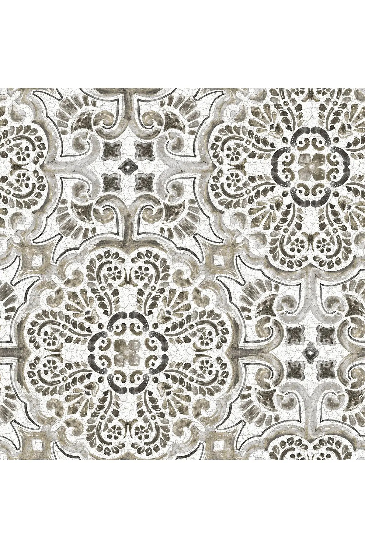 wallpops black florentine tile peel stick wallpaper nordstrom rack