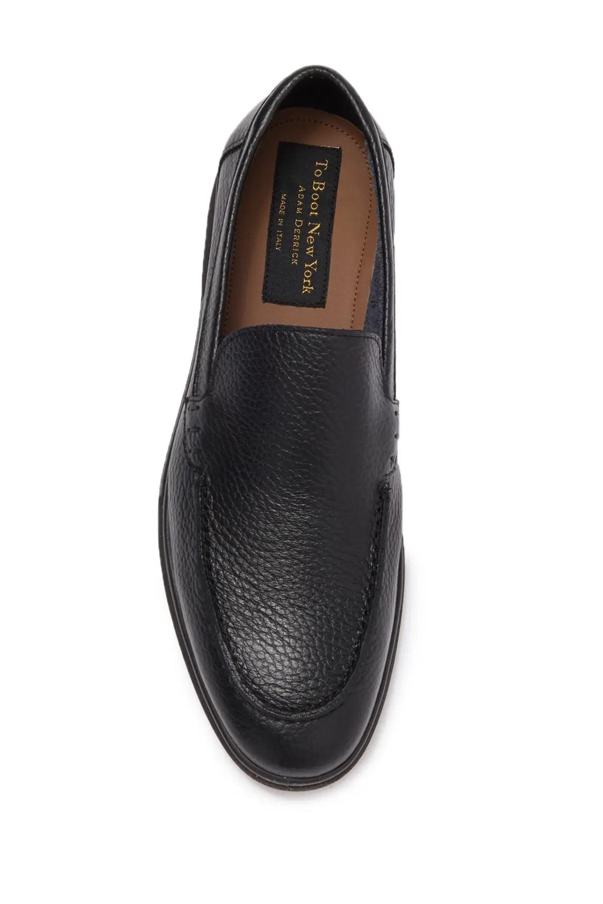 to boot new york osbourne leather loafer nordstrom rack