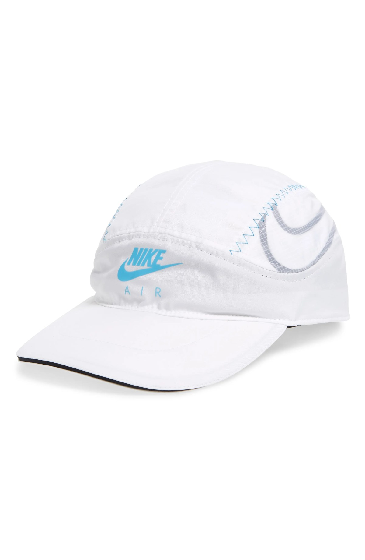 NIKE Sportswear Tailwind Performance Baseball Cap, Main, color, WHITE