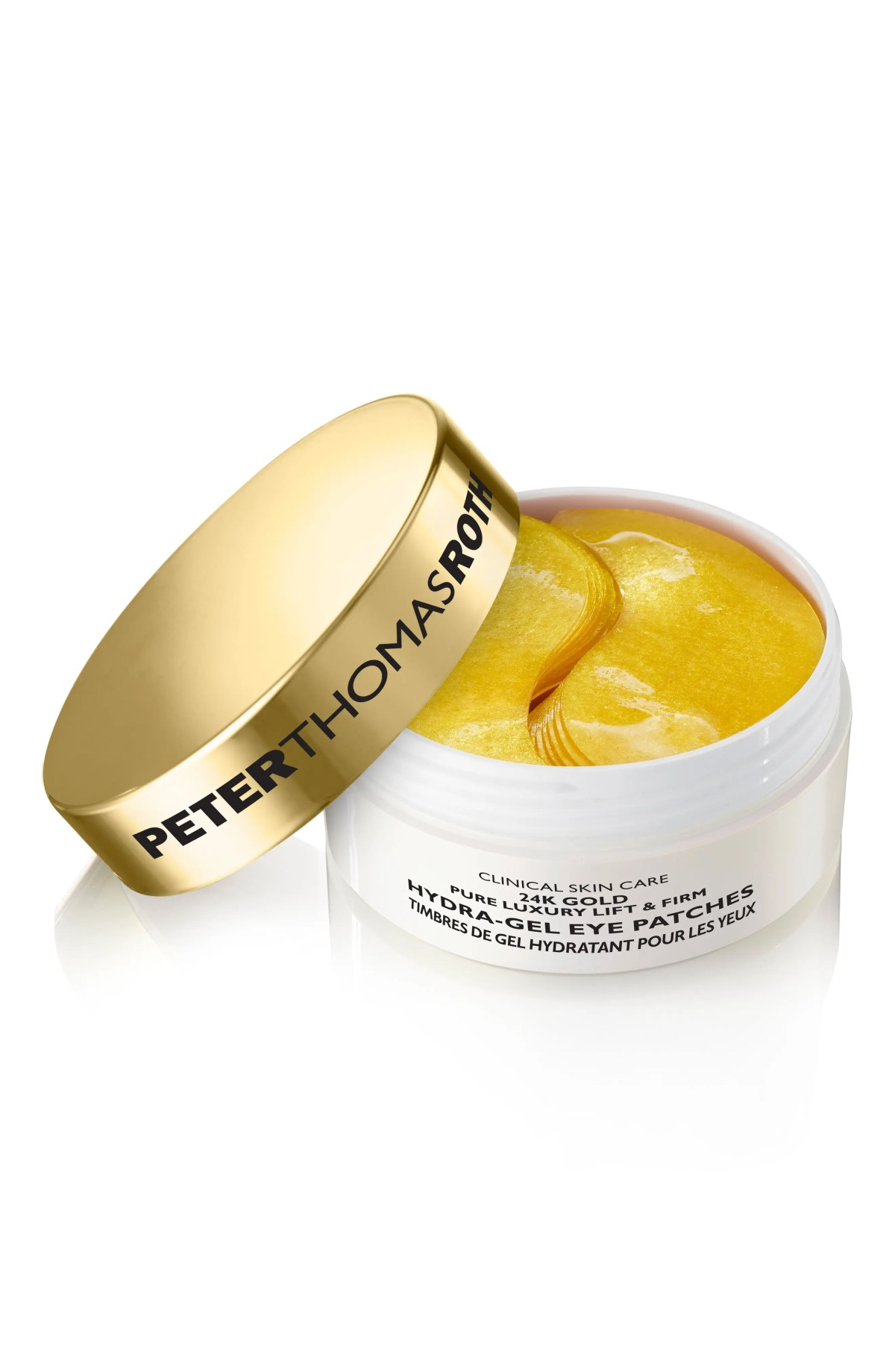 PETER THOMAS ROTH 24K Gold Lift & Firm Hydra-Gel Eye Patches, Main, color, NO COLOR