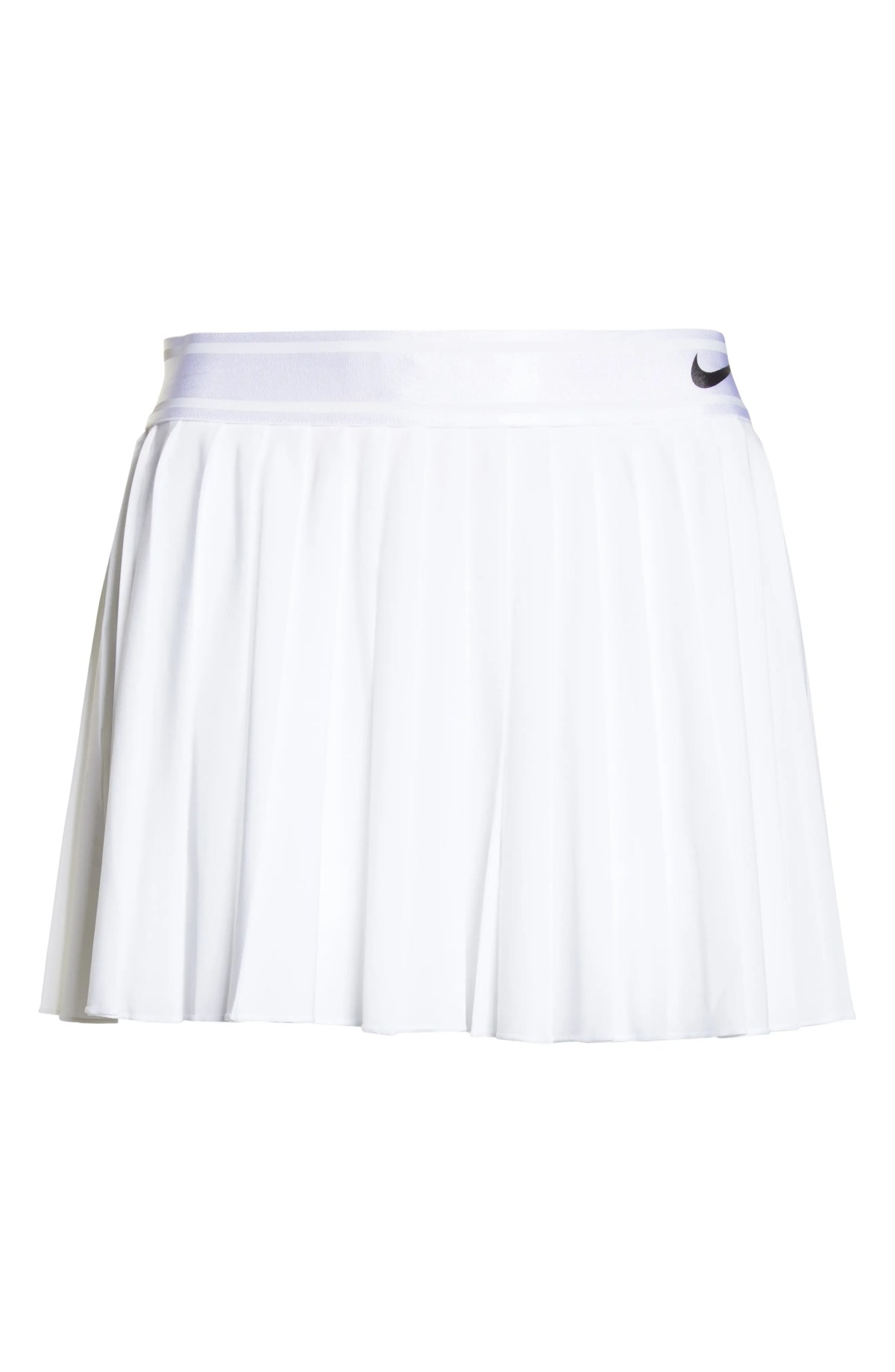 Court Victory Tennis Skirt, Alternate, color, WHITE/ BLACK