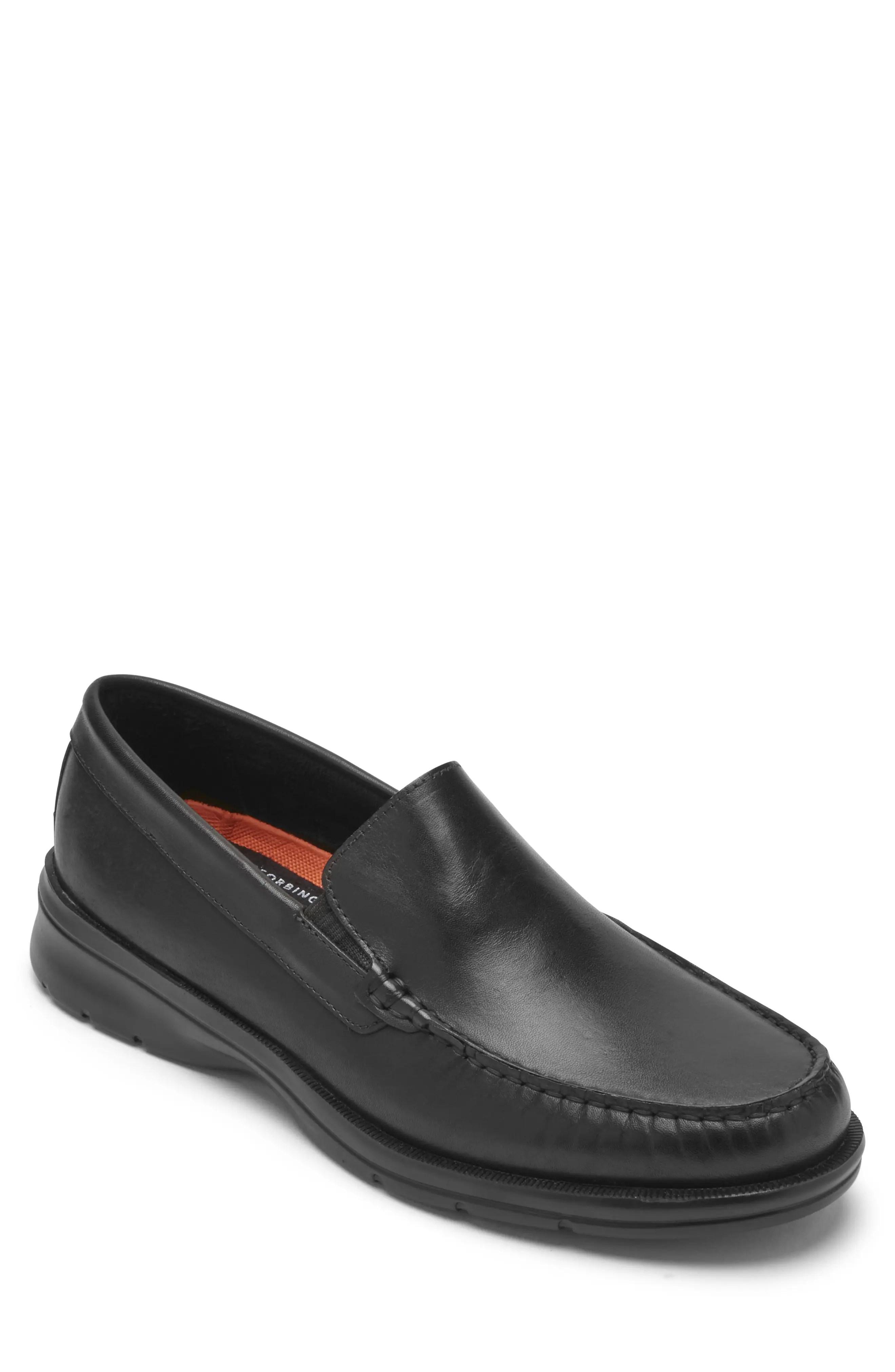 rockport men s loafers slip ons