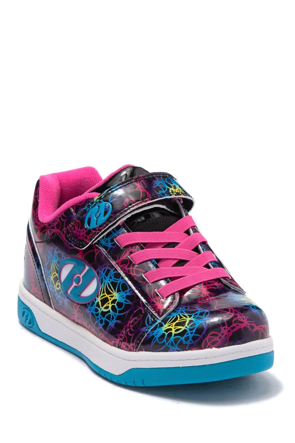 heelys dual up wheeled skate shoe