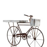 Willow Row Iron Bicycle Planter With Rust Brown Finish Nordstrom Rack