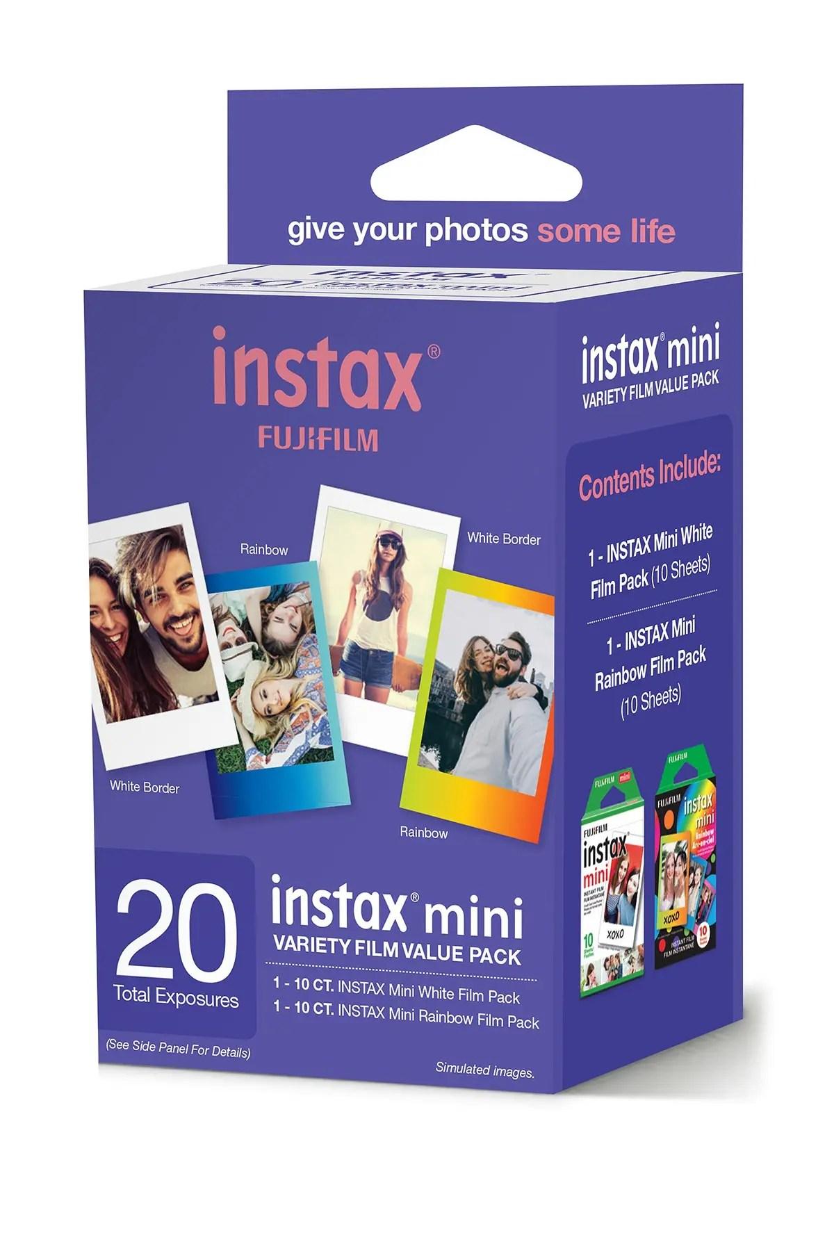 instax mini by fujifilm instax mini v film pack of 20 nordstrom rack