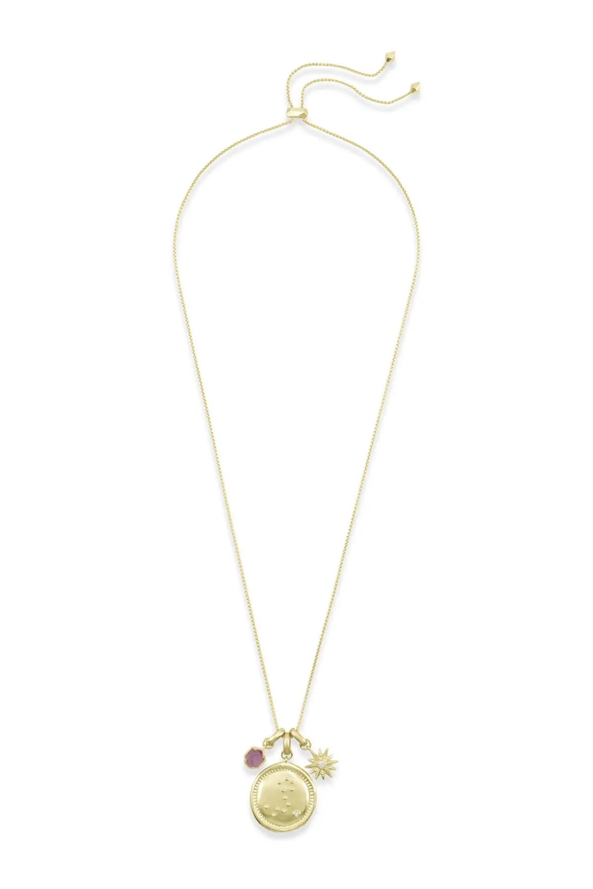 kendra scott 14k gold plated pisces charm necklace nordstrom rack