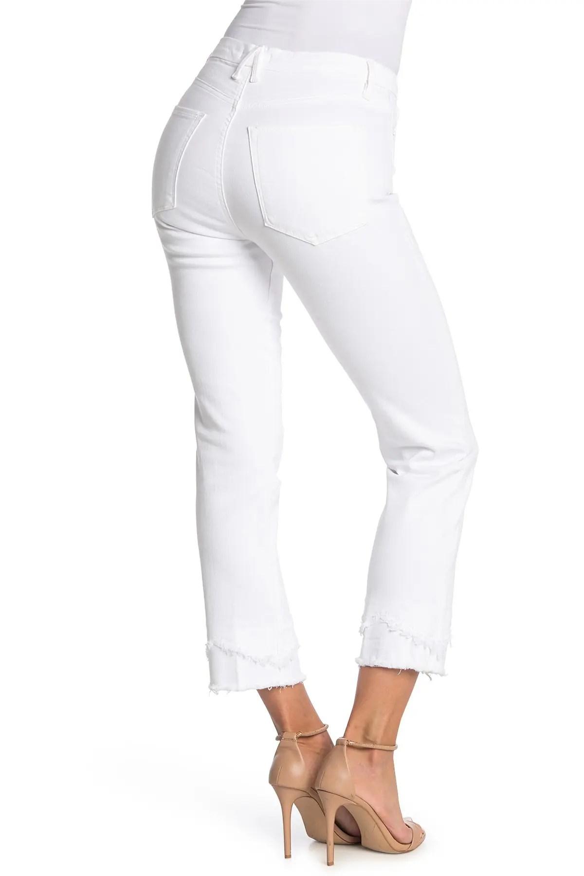 good american double chew straight leg jeans nordstrom rack