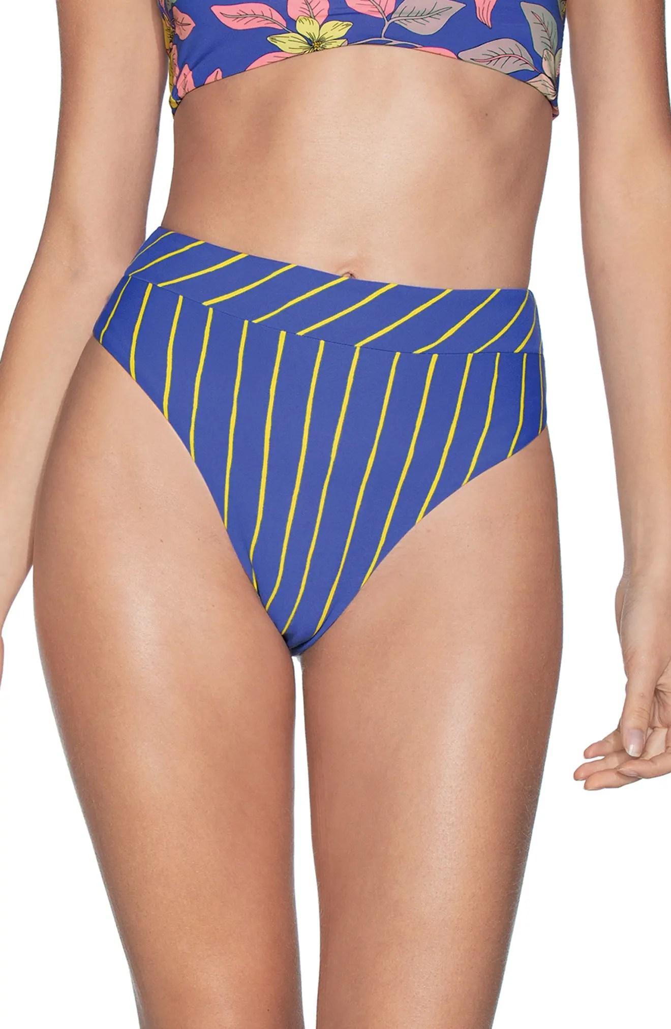 maaji lorelei suzy q high waist reversible bikini bottoms nordstrom rack