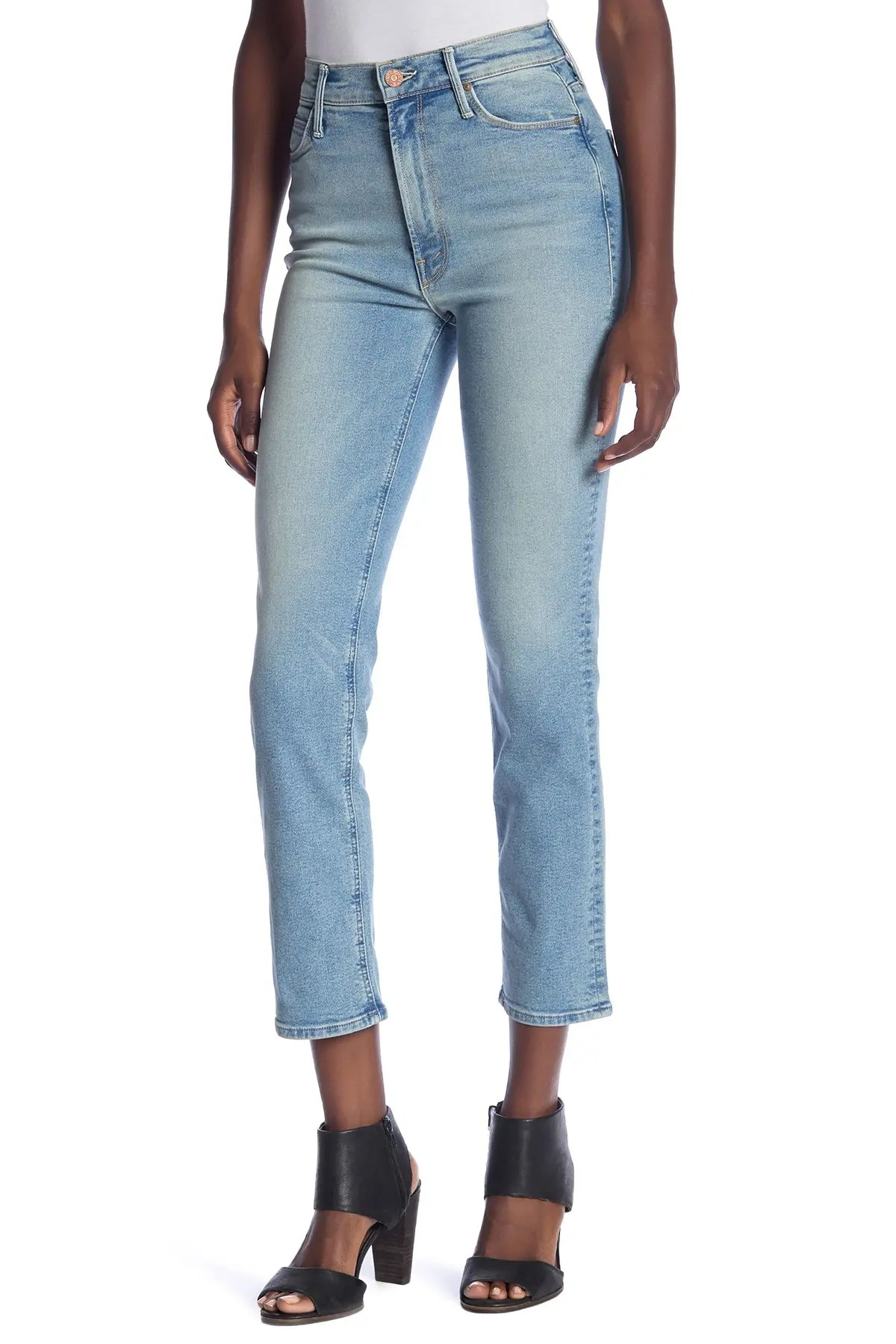 the dazzler ankle straight leg jeans