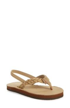 I got these for my granddaughter she loves the sandals so much that she wears them everywhere. Rainbow Nordstrom